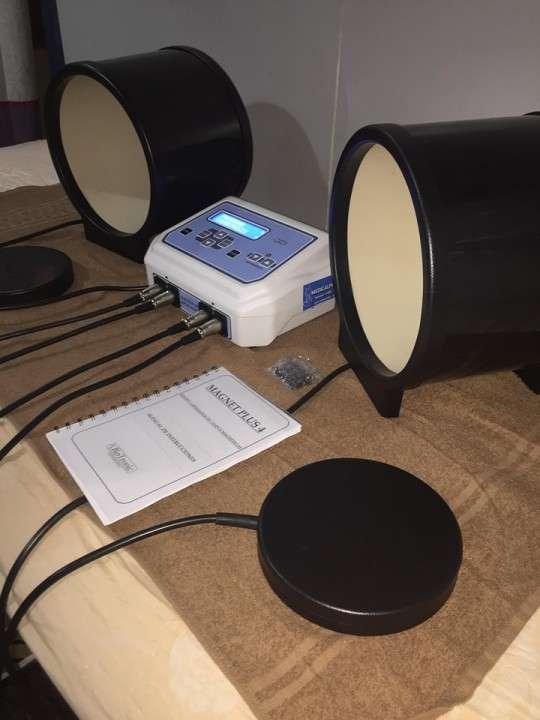 Magneto Terapia Digital con 2 placas y 2 túneles - 3