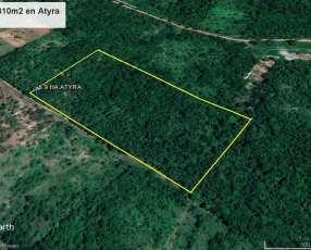 Terreno de 5 hectáreas en Atyrá