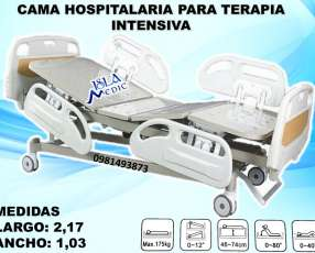 Cama hospitalaria para terapia intensiva