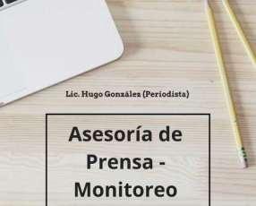 Asesoría de Prensa - Monitoreo !!! A su servicio...