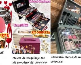 Productos y equipos de maquillaje