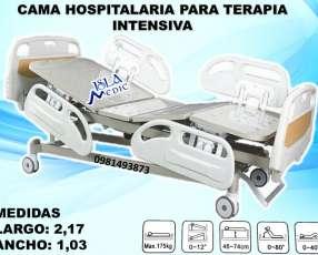 Cama hospitalaria de terapia intensiva