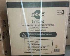 Lavarropas automática Tokyo Cecilia 8 kg