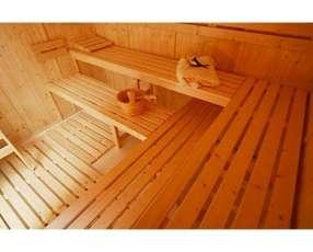 Sauna para 8 personas nuevo