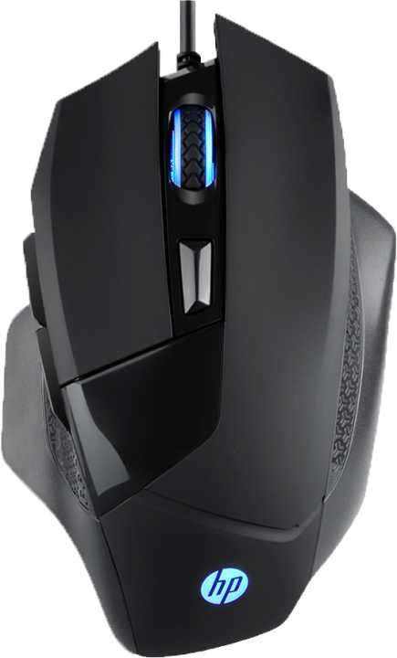 Mouse HP gaming g200 usb ptico 4000 dpi - 0