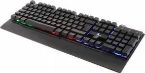 Teclado gamer xtech xtk-510s rgb/multimedia/spa/usb