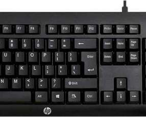 Teclado + mouse HP gaming km100 usb spa negro