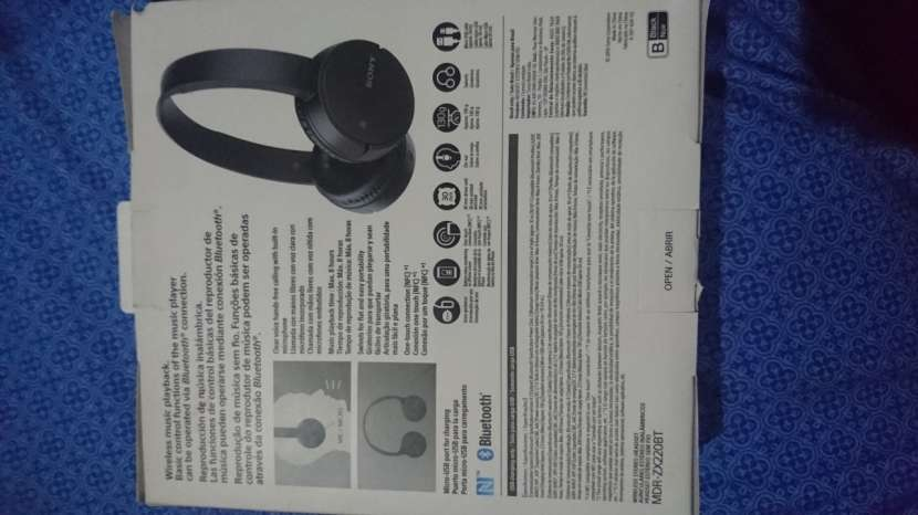 Auricular Sony A Bluetooth - 1