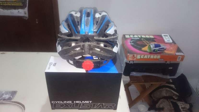 Casco Para bici(marca Exustar) - 2