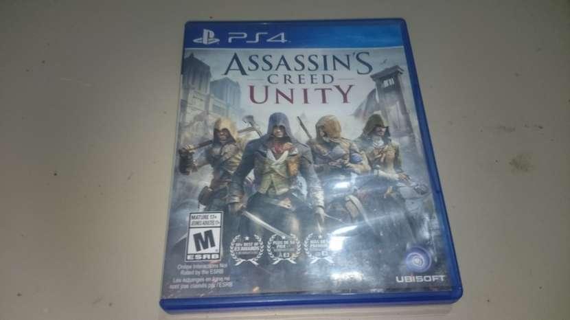 Juegos Assassins Creed Unity Juego de play 4 - 0