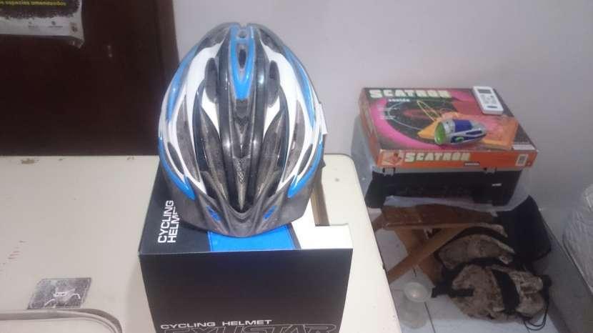 Casco Para bici(marca Exustar) - 1