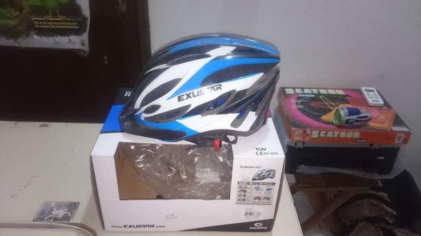 Casco Para bici(marca Exustar) - 0