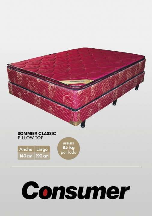 Sommier Classic Consumer 1.40 x 1.90 - 1