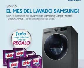 Lavarropas Samsung Carga Frontal 10,1 Kg