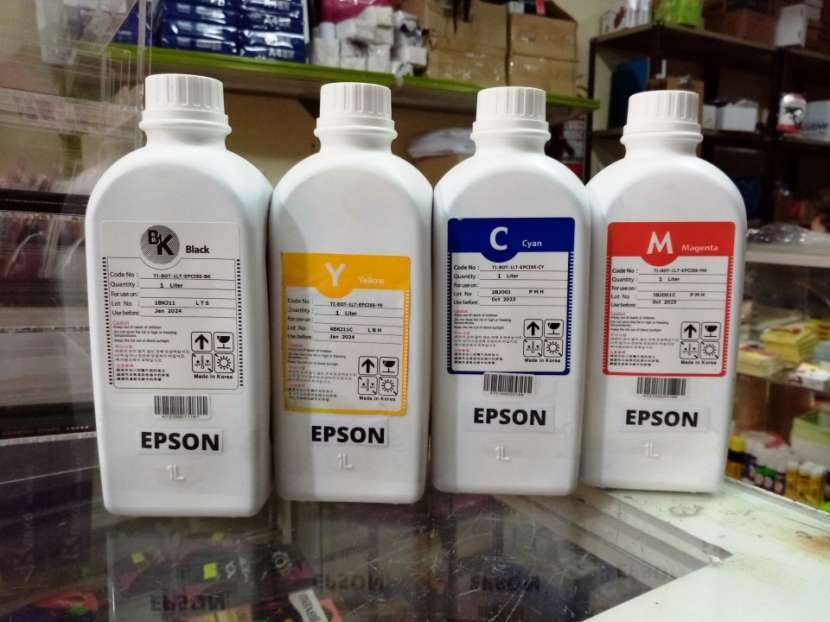 Tinta compatible para impresoras Epson Econtank 1 litro - 0