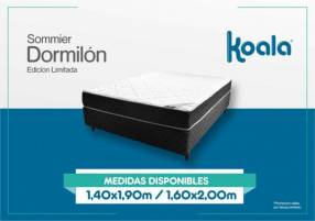 ️Sommier Dormilón Pillow Top