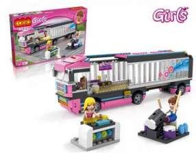Camión de Gira Musical - Juego de Construcción - Cogo Blocks