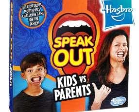 Juego ¿Qué Dijooo? Niños vs padres de Hasbro