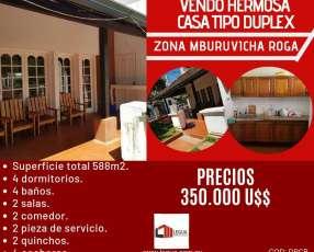 Casa en Zona de Mburuvicha Roga