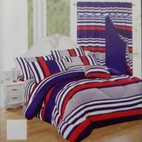 Kit 9 piezas para cama 180x2 y 2x2