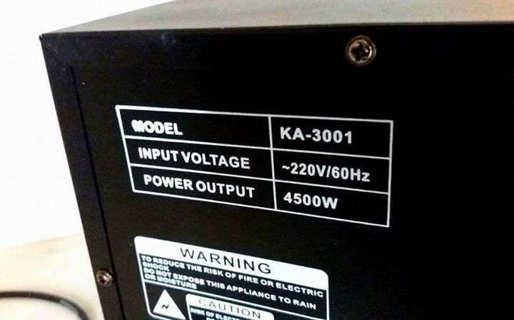 Amplificador grande profesional - 3