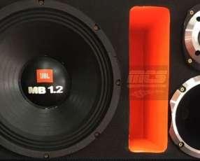 Caja trio JBL 1700W