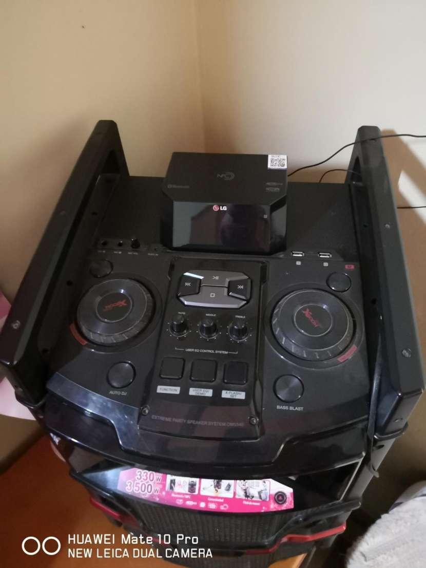 Equipo de sonido LG con bluetooth - 5