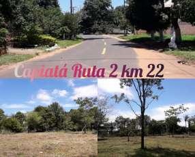 Terreno en Capiatá Ruta 2 Km 22