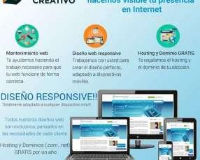 Diseño web profesional - desarrollo de páginas web