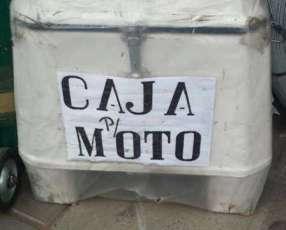 Caja para moto