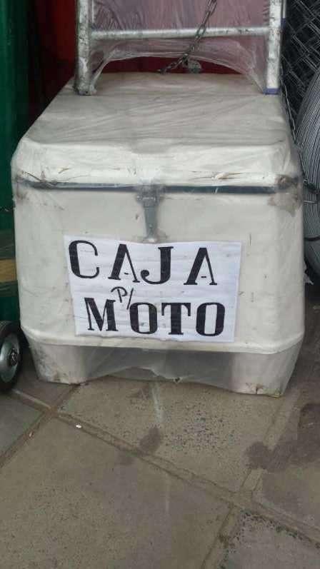 Caja para moto - 0