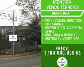 Terreno en Barrio Jara