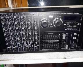 Amplificador profesional grande de 6500W