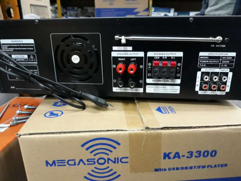 Amplificador de 3500W - 2