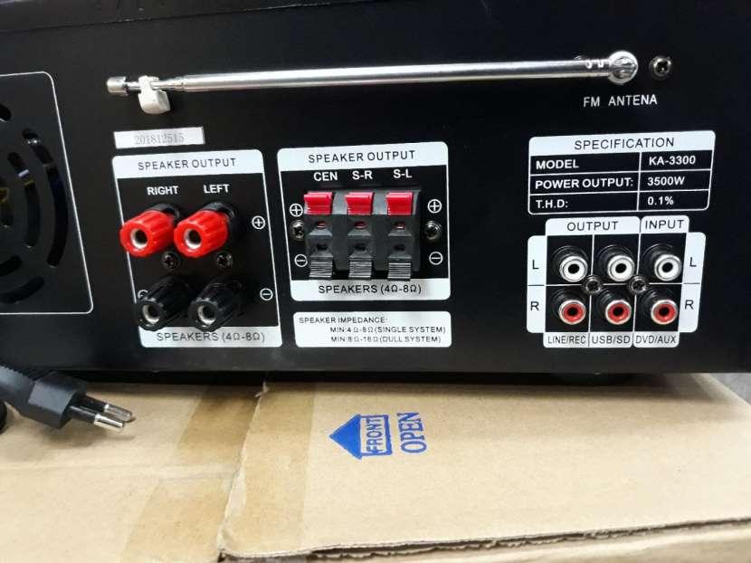 Amplificador de 3500W - 3