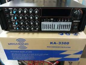 Amplificador de 3.500W