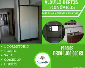 Departamento en barrio Las Mercedes
