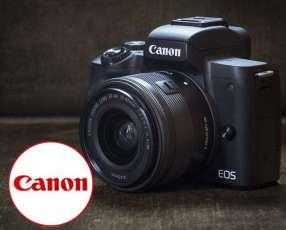 Cámara Canon EOS M50 15-45mm