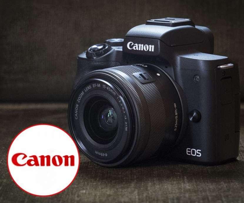 Cámara Canon EOS M50 15-45mm - 0