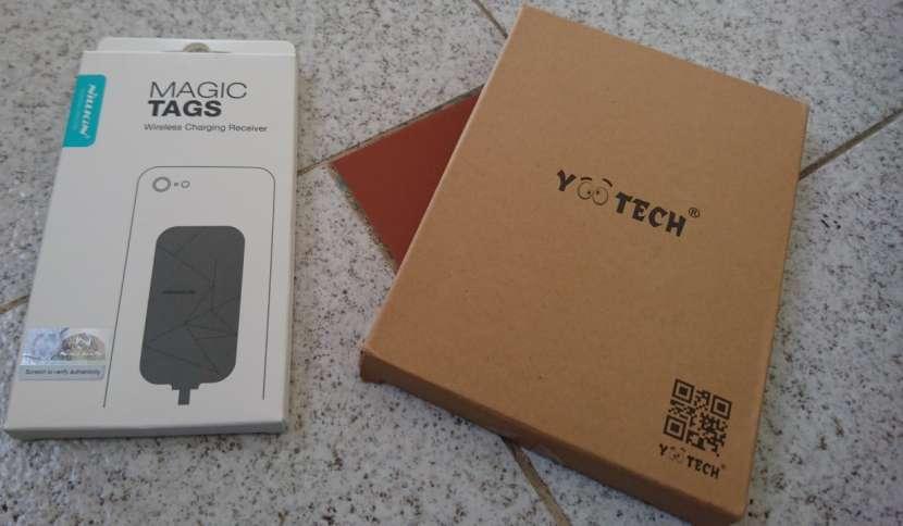 Kit de carga inalámbrica para celulares y tablets - 0