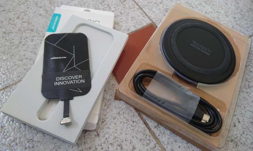Kit de carga inalámbrica para celulares y tablets - 1