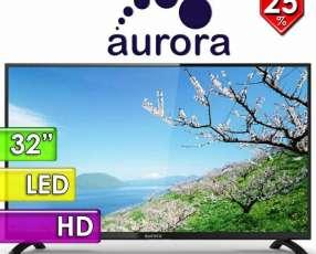 TV LED Aurora de 32 pulgadas