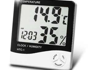 Termohigrometro Digital - Medición de Temperatura y Humedad