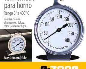 Termómetro para horno 0-400° inox