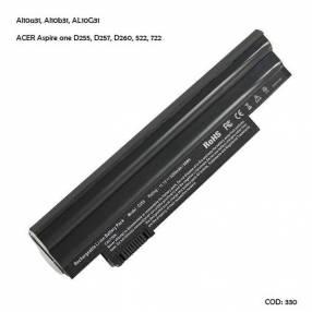 Batería Acer AL10A31 Acer Aspire one D255 D257 D260