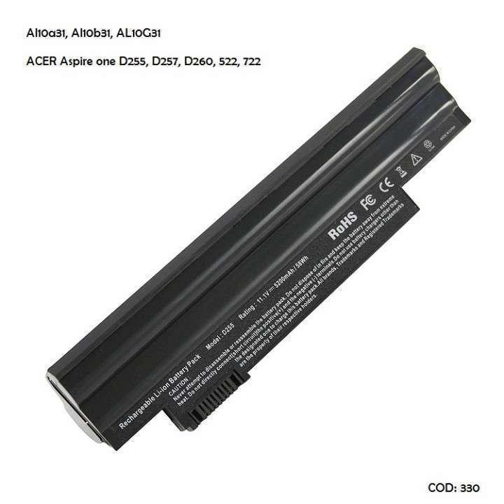 Batería Acer AL10A31 Acer Aspire one D255 D257 D260 - 0