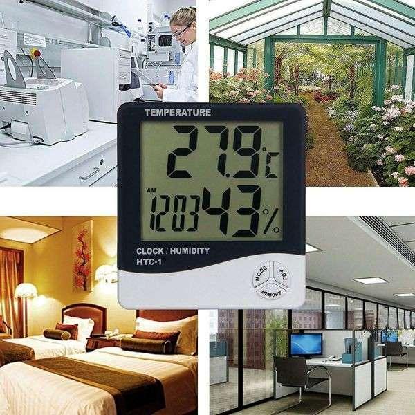 Termohigrometro Digital - Medición de Temperatura y Humedad - 2