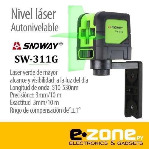 Nivel laser SNDWAY de 2 líneas auto-nivelable - 0