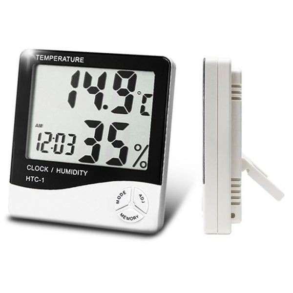 Termohigrometro Digital - Medición de Temperatura y Humedad - 1