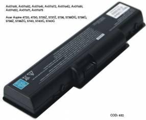Batería Acer AS07A41 Acer Aspire 4720 5735Z 5738DG